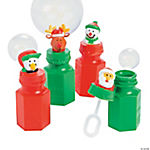 Holiday Characters Bubble Bottles