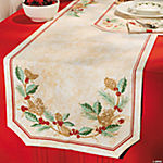 Holiday Print Table Runner