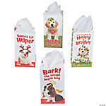 Holiday Puppy Treat Bags