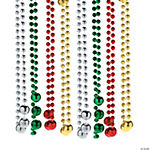 Holiday Round Beaded Necklaces