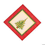 Holiday Spruce Luncheon Napkins