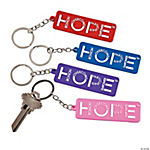 Hope Awareness Key Chains