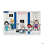 Hospital Giant Sticker Scenes
