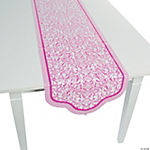 Hot Pink Wedding Table Runner