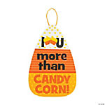 I Love You More Than Candy Sign Craft Kit