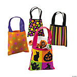 Iconic Halloween Pattern Totes