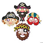 Illustrated Pirate Masks