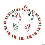 Inflatable Candy Cane Ring Toss Game