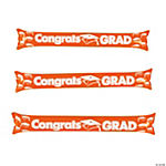 Inflatable Orange Graduation Boom Sticks