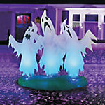 Inflatable Trio of Floating Ghosts