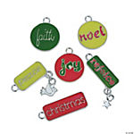 Inspirational Enamel Christmas Charms