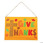 Inspirational Give Thanks Sign Craft Kit
