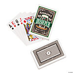 Irish Pub Personalized Playing Cards