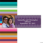 Italian Plum & Champagne Custom Photo Banner - Medium