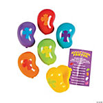 Jelly Bean-Shaped Easter Eggs with Prayer Card