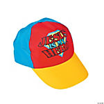 """Jesus Is My Hero""  Baseball Cap"