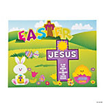 """Jesus Is the Reason For the Season"" Easter Sticker Scenes"