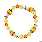 Jeweled Candy Corn Bracelet Craft Kit