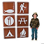 Jumbo Camp Sign Cutouts