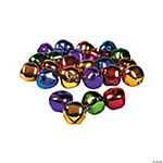 Jumbo Jingle Bells in Rainbow Colors