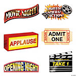 Jumbo Movie Night Cutouts