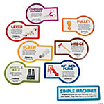 Jumbo Simple Machines Classroom Cutouts