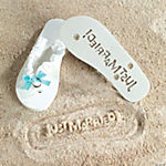 Just Married Flip Flops  (5/6)