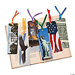 Laminated American Symbol Bookmarks