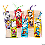 Laminated Superhero Bookmarks
