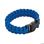 Large Blue Paracord Bracelets