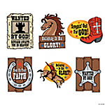 Large Faith Western Cutouts