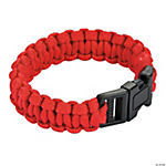 Large Red Paracord Bracelets