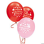 "Latex ""Happy Valentine's Day!"" Balloons"