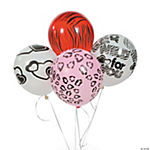 Latex Wild For You Balloons