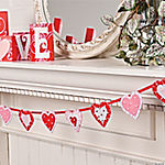Layered Heart Garland