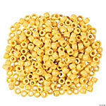 1/2 Lb. Of Yellow Pony Beads