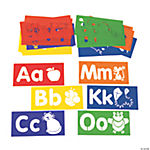 Learn Your ABCs Alphabet Stencils