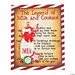 Legend of the Milk & Cookies Ornaments