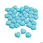 Light Blue Candy Hearts