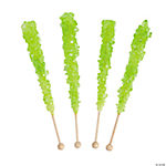 Light Green Rock Candy Pops