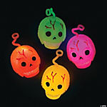 Light-Up Skull Puffer Ball Yo-Yos
