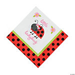 Little Ladybug Luncheon Napkins