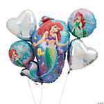 Little Mermaid Mylar Balloon Bouquet