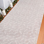 """Love"" Print Wedding Aisle Runner"
