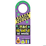 Mad Scientist Doorknob Hanger Craft Kit