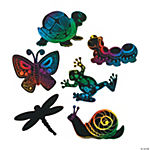 Magic Color Scratch Little Garden Critters