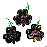 Magic Color Scratch Shamrocks
