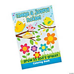 """Make A Joyful Noise"" Coloring Books"
