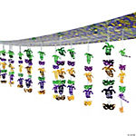 Mardi Gras Ceiling Decoration