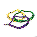 Mardi Gras Friendship Rope Bracelets